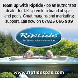 Riptide Spas side advert